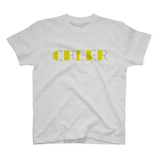 チアダンス smile T-shirts