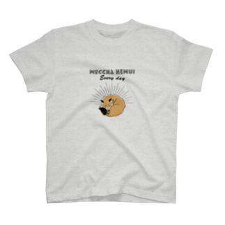 MECCHA NEMUI きつね T-shirts