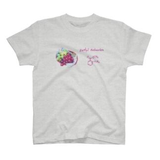ブドウの香り T-shirts