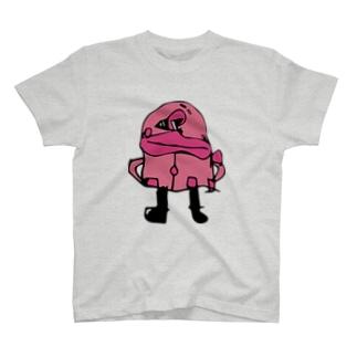 おばけさん(つるつるさん) T-shirts