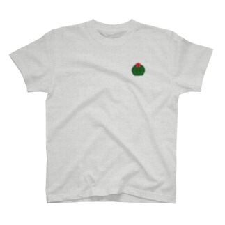 丸サボテン(小) T-shirts