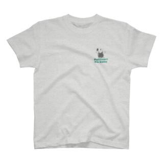 ぽちゃクイくん緑 T-shirts