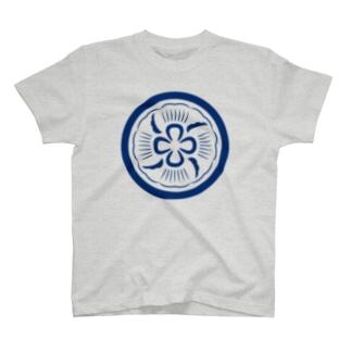 クラゲ紋ライト T-shirts