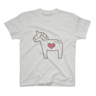馬が大好き! T-shirts