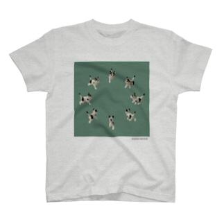 TKMTS STOREの【8cats】 ネコの集会 T-shirts