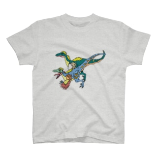 かっこいいりゅうくん(ヴェロキラプトル) T-shirts