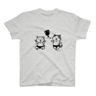 どすこいにゃんこ T-shirts