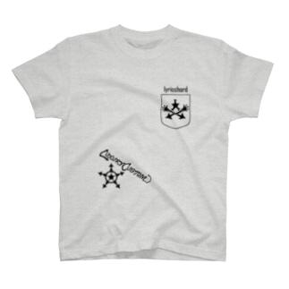 ベクトルPOCKET/スター T-shirts