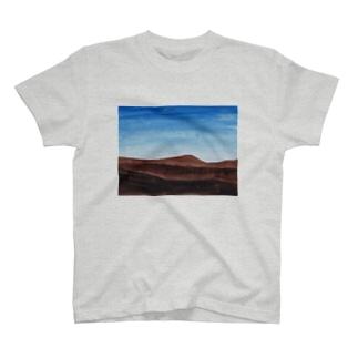 硬い大地 T-shirts
