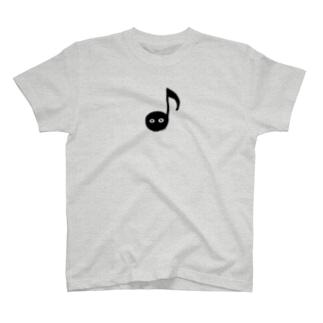 音符ちゃん(八分音符) T-shirts