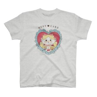 meet/cat T-Shirt