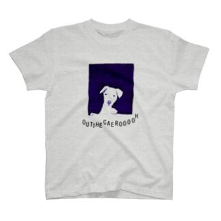 ユーモアわんこデザイン「お家へ帰ろう」 T-shirts
