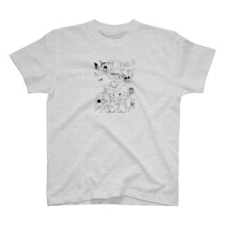 リーゼントスフィンクスの1ページグッズ T-shirts