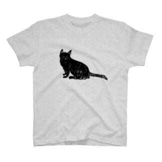 黒猫おこげちゃん T-shirts