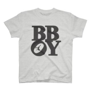 """""""B-BOY"""" POP-ART風 T-shirts"""
