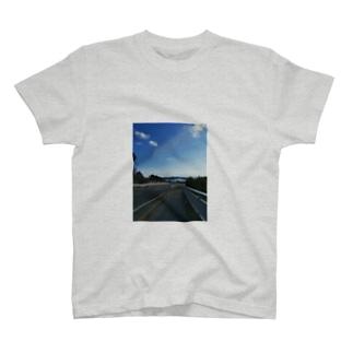 あの夏のあの下り坂 T-shirts