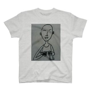めがねぇ T-shirts
