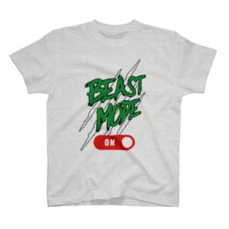 BEAST MODE ON 03 T-shirts