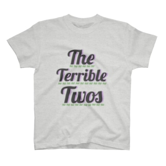 The terrible twos T-shirts