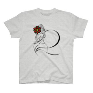 飛鳥の乙女 シンプル T-shirts