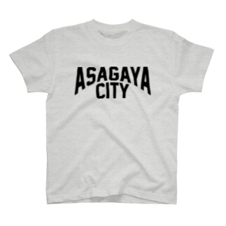 アサガヤシティ Tシャツ T-shirts