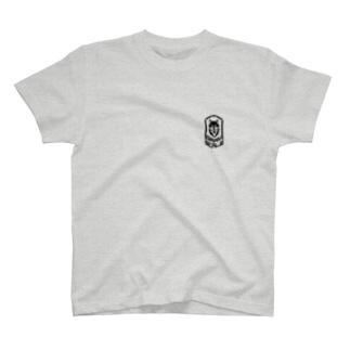 GRAY SCALE エンブレム T-shirts
