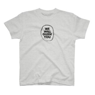 JapanWonderGuideのWE WILL GUIDE YOU T-shirts