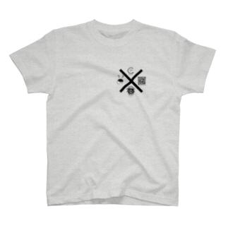 SHOUGUN/ダブルスラッシュ  QR Tシャツ T-shirts