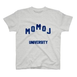 モモジ MOMOJ大学 カレッジ T-shirts
