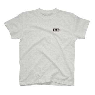 ゴージャス動画オフィシャルのG☆G ブランドロゴ T-Shirt