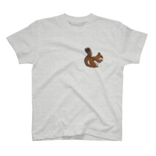 心にリスを T-Shirt