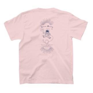 スペースバニー(ブルー) T-shirts