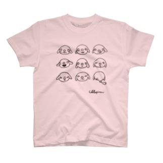 クロピロン九面相 T-shirts