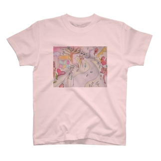 miyuki_aのたずねてみたがあてもなく T-shirts