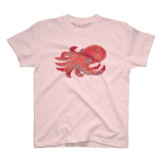 寝てるタコ T-Shirt
