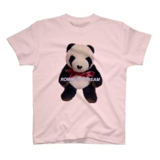ろまどりパンダ T-shirts