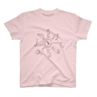 熱波ーカー(black) T-shirts