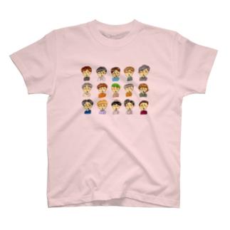 ばなちゃんの彼氏たち T-shirts