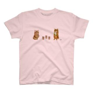 あんずとすもも T-shirts