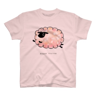 羊のリズム  Sheep rhythm T-shirts