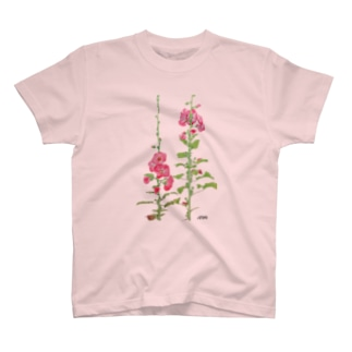 タチアオイ T-shirts