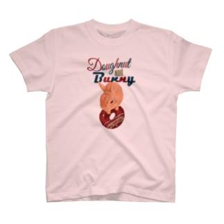 ドーナツ&バニー T-shirts