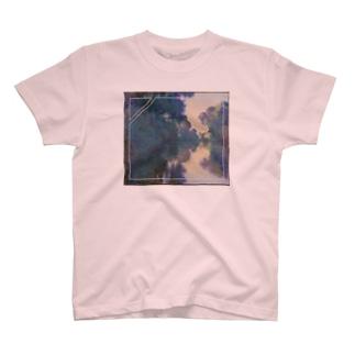セーヌ河の朝remix T-shirts