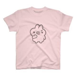 もくろむうさぎ T-shirts