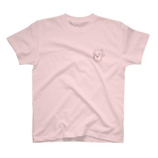 癒しのジジのすけ T-shirts