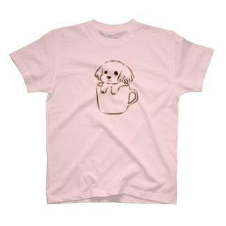 ティーカッププードルTシャツ T-shirts