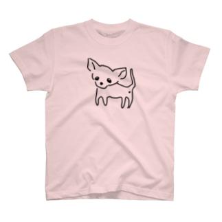 ゆるチワワ(クリア) T-shirts