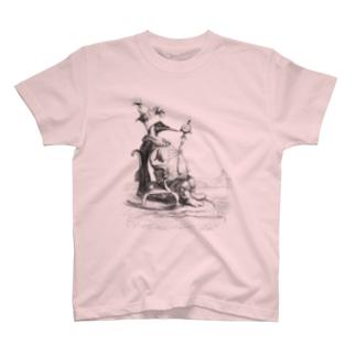 J・J・グランヴィル『動物たちの私生活・公生活情景』 T-shirts