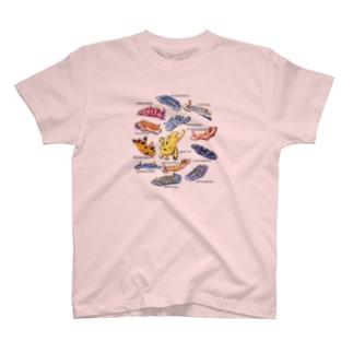 カエルアンコウと12匹のウミウシ T-shirts