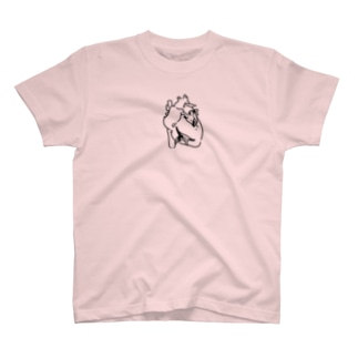 心臓ペンギン T-shirts